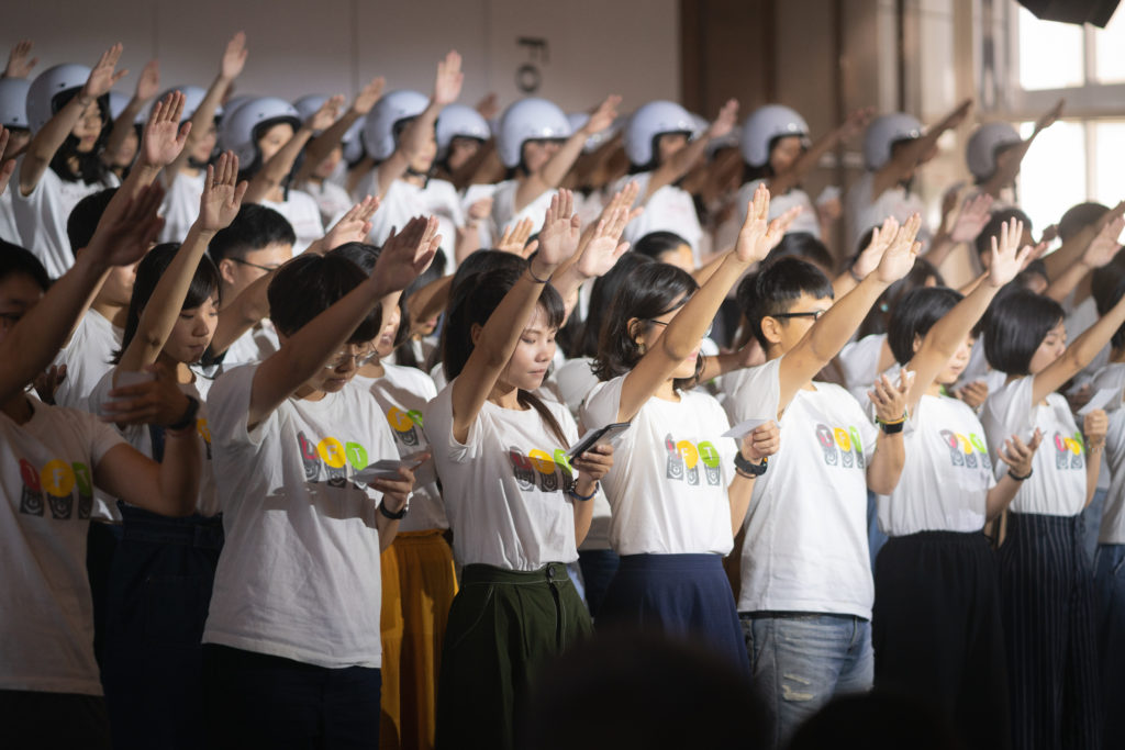 完成兩年TFT計畫的第四屆TFT校友宣誓